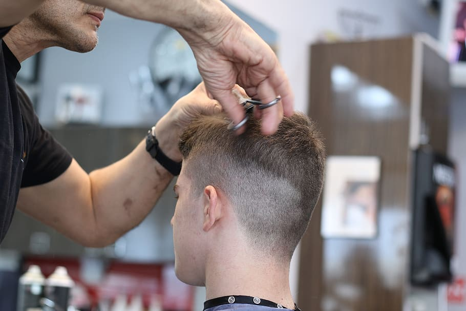 barbershop-haircut-scissors-hair