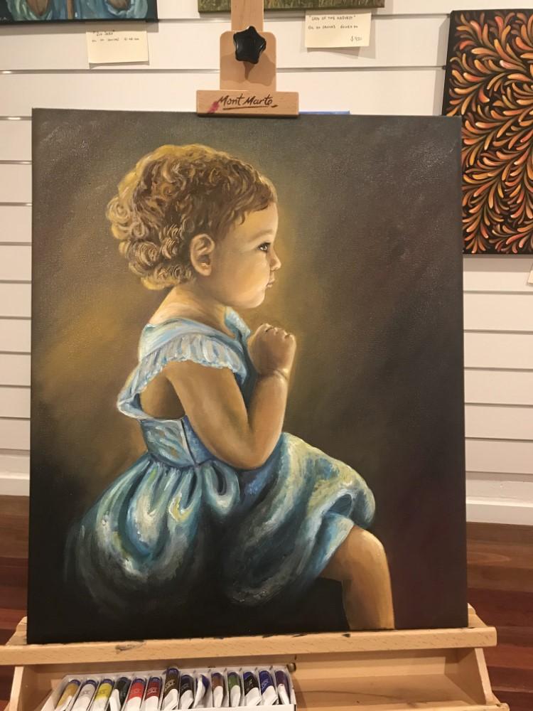 Debora Busa Child Portrait (Custom)