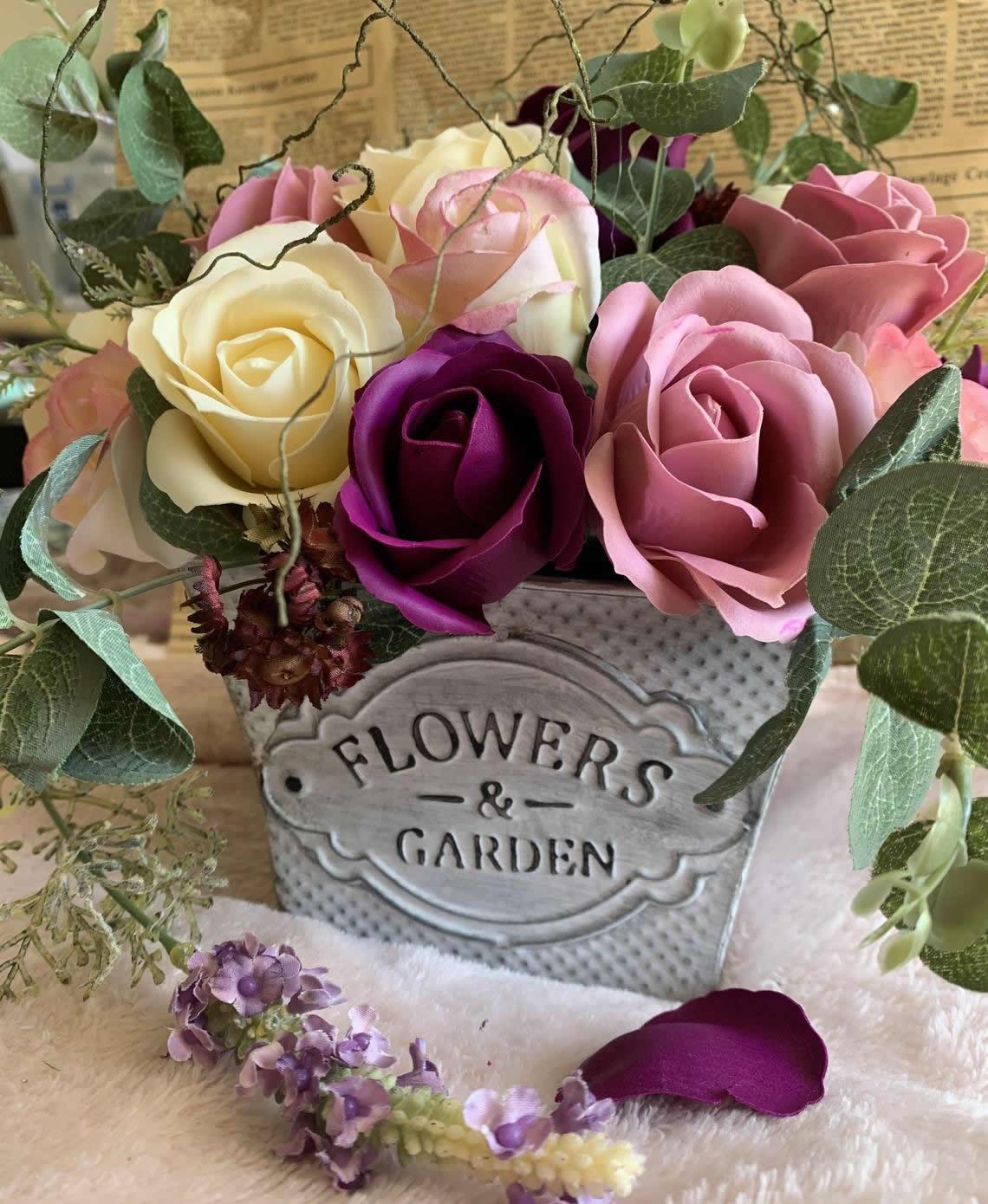 Soap Bouquet-one petal, one hand wash web