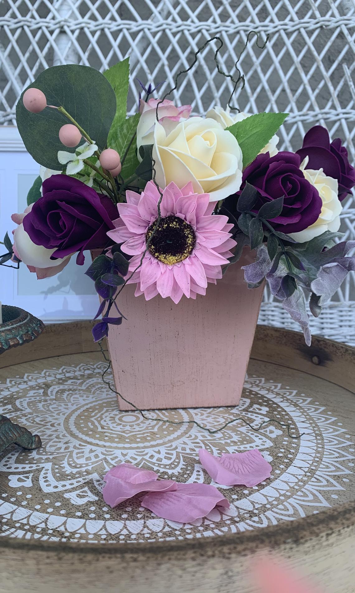 Soap Bouquet - one petal one hand wash
